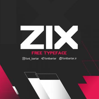 zix font cover 350x350 - دانلود فونت انگلیسی zix