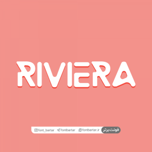 Riviera font cover 300x300 - فونت انگلیسی Riviera