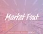 فونت انگلیسی Market