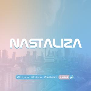 فونت انگلیسی nastaliza