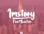 فونت انگلیسی Imstory